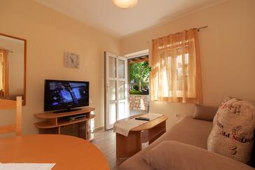 Mali Lošinj, Wohnzimmer in folgender Unterkunftsart apartment, WiFi.