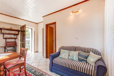 Mali Lošinj, Гостиная в размещении типа apartment, доступный кондиционер и WiFi.