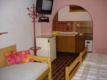 Punat, Konyha szállásegység típusa studio-apartment, WiFi .