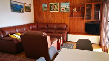 Mali Rat, Dnevna soba v nastanitvi vrste apartment, Hišni ljubljenčki dovoljeni in WiFi.