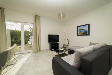 Kampor, Гостиная в размещении типа apartment, доступный кондиционер и WiFi.