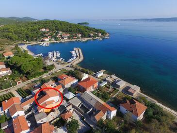 Ždrelac, Pašman, Objekt 15318 - Apartmani blizu mora.