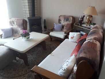 Novi Vinodolski, Living room in the apartment, WiFi.
