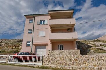 Zubovići, Pag, Объект 15342 - Апартаменты с галечным пляжем.