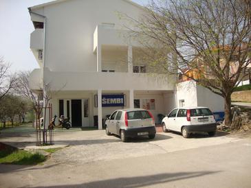 Maslenica, Novigrad, Objekt 15350 - Ubytování v blízkosti moře s oblázkovou pláží.