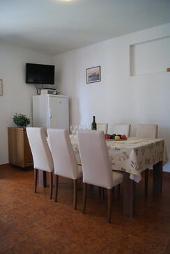 Zavala, Jídelna v ubytování typu apartment, domácí mazlíčci povoleni a WiFi.