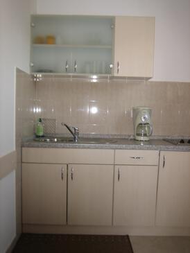 Senj, Kuchyně v ubytování typu studio-apartment, WiFi.