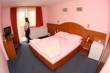 Oroslavje, Ložnice v ubytování typu room, s klimatizací, domácí mazlíčci povoleni a WiFi.