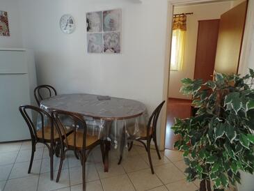 Valbandon, Sufragerie în unitate de cazare tip apartment, animale de companie sunt acceptate şi WiFi.