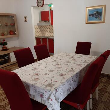 Brist, Dining room in the apartment, WiFi.