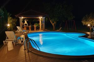 Family friendly apartments with a swimming pool Valtura, Pula - 15450