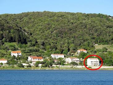 Supetarska Draga - Gornja, Rab, Objekt 15453 - Ferienwohnungen nah am Meer.