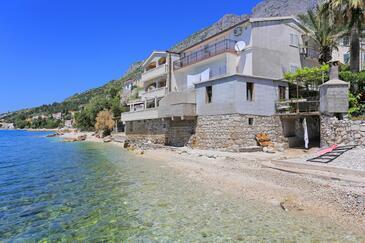Brist, Makarska, Objekt 15465 - Ubytování v blízkosti moře s oblázkovou pláží.