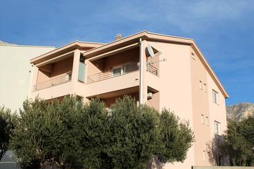Podaca, Makarska, Obiekt 15475 - Apartamenty ze żwirową plażą.
