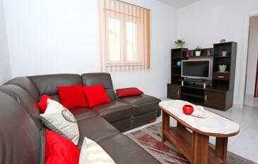 Drvenik Mali, Living room in the apartment, WiFi.