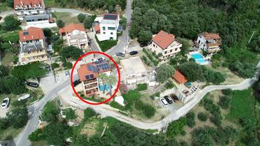 Supetarska Draga - Gonar, Rab, Objekt 15575 - Počitniška hiša s peščeno plažo.