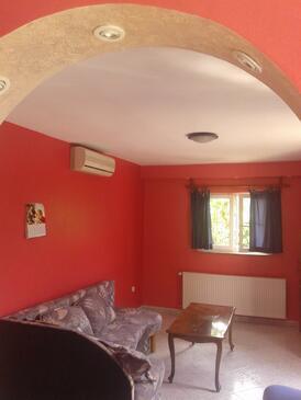 Brodarica, Гостиная в размещении типа apartment, доступный кондиционер и WiFi.