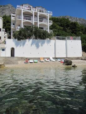 Brist, Makarska, Objekt 15620 - Ubytování v blízkosti moře s oblázkovou pláží.