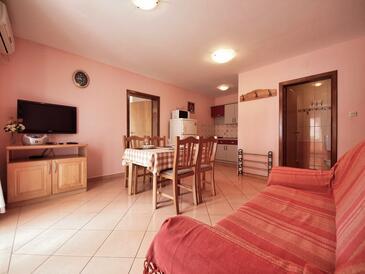 Srima - Vodice, Гостиная в размещении типа apartment, доступный кондиционер и WiFi.