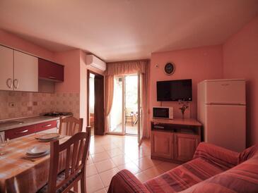 Srima - Vodice, Wohnzimmer in folgender Unterkunftsart apartment, WiFi.