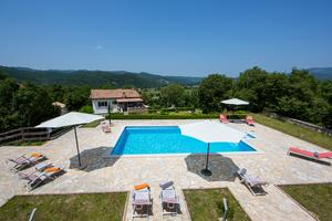 Family friendly house with a swimming pool Katun Boljunski, Central Istria - Središnja Istra - 15627