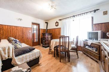 Donja Krušica, Living room in the apartment, (pet friendly) and WiFi.
