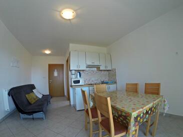 Zaostrog, Ebédlő szállásegység típusa apartment, légkondicionálás elérhető, háziállat engedélyezve és WiFi .