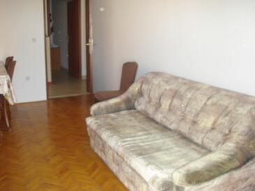 Biograd na Moru, Гостиная в размещении типа apartment, доступный кондиционер, Домашние животные допускаются и WiFi.