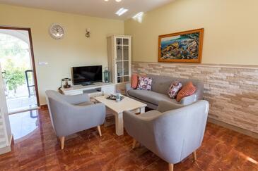 Kremena, Obývací pokoj 1 v ubytování typu house, WiFi.