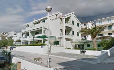 Makarska, Makarska, Objekt 15705 - Ubytování s oblázkovou pláží.