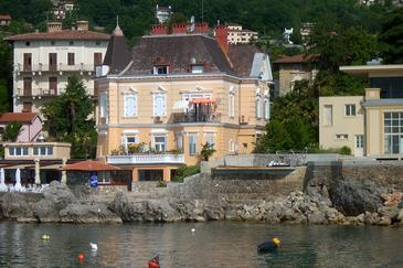 Lovran, Opatija, Property 15745 - Apartments near sea with pebble beach.