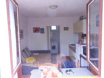 Stobreč, Гостиная в размещении типа studio-apartment, Домашние животные допускаются.