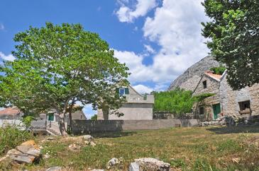 Borak, Omiš, Object 15767 - Appartementen with pebble beach.