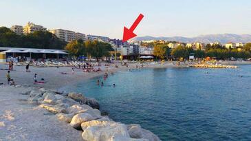 Split, Split, Objekt 15769 - Apartmani sa šljunčanom plažom.