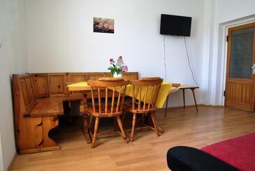 Biograd na Moru, Salon dans l'hébergement en type apartment, climatisation disponible et WiFi.