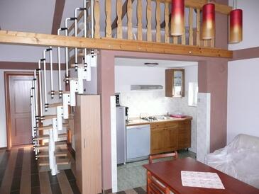 Novi Vinodolski, Kuchyně v ubytování typu apartment, WiFi.