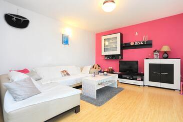 Kaštel Kambelovac, Obývací pokoj v ubytování typu apartment, WiFi.