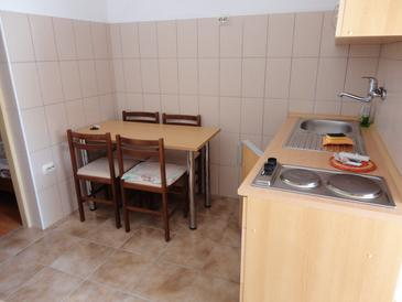 Rtina - Stošići, Comedor in the studio-apartment.