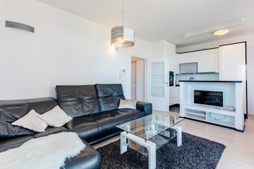 Split, Dnevni boravak u smještaju tipa apartment, dostupna klima, kućni ljubimci dozvoljeni i WiFi.