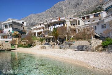 Drašnice, Makarska, Objekt 15927 - Apartmaji in sobe v bližini morja s prodnato plažo.