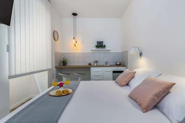 Rijeka, Kuchyně v ubytování typu studio-apartment, WiFi.