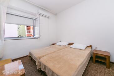 Gradac, Spalnica v nastanitvi vrste room, dostopna klima in WiFi.