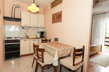 Pag, Kuchyně v ubytování typu apartment, domácí mazlíčci povoleni a WiFi.