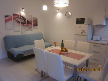 Rijeka, Obývací pokoj v ubytování typu apartment, s klimatizací a WiFi.