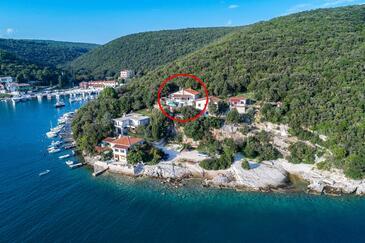 Luka Krnica, Marčana, Objekt 16055 - Ubytování v blízkosti moře s oblázkovou pláží.