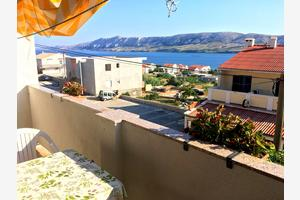 Apartments and rooms with parking space Zubovići, Pag - 16063