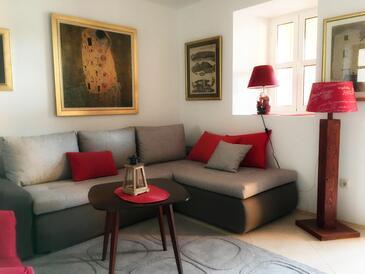 Blace, Obývací pokoj v ubytování typu apartment, domácí mazlíčci povoleni a WiFi.
