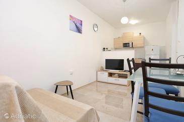 Split, Woonkamer in the apartment, air condition available en WiFi.
