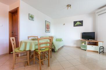 Punat, Гостиная в размещении типа apartment, доступный кондиционер и WiFi.