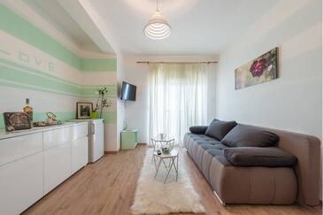 Stobreč, Dnevni boravak u smještaju tipa apartment, WiFi.
